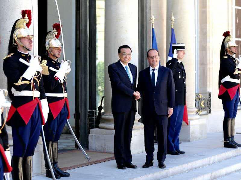Laurent Fabius voudrait qu'Alibaba investisse en France