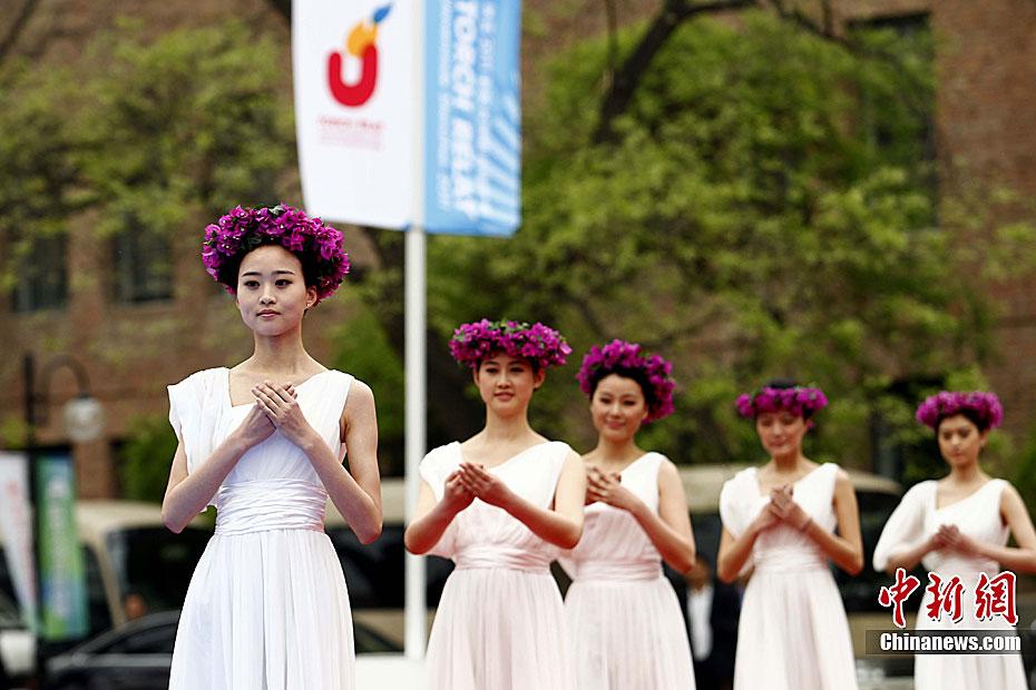 L'allumage de la flamme de l'Universiade de Shenzhen se déroule à l'Université Tsinghua(4)