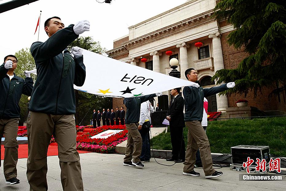 L'allumage de la flamme de l'Universiade de Shenzhen se déroule à l'Université Tsinghua(7)